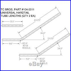 Universal Hardtail Frame Kit Honda Yamaha Chopper Bobber xs650 cb750 brat xs400