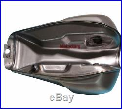 Universal Motorrad Kraftstofftank Benzintank Cafe Racer Fuel Tank 12L Unbemalt
