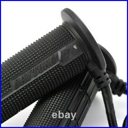 Updated Daytona Heated Motorcycle Grips 7/8 22mm with Built in Controller