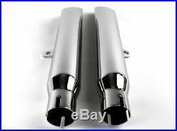 V-Twin Slip-On Slash Cut Exhaust Mufflers Baffle 1980-2003 Harley Sportster XL