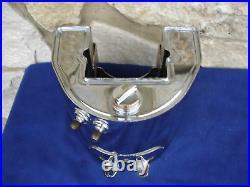 Vintage Chrome Oil Tank For Harley Davidson Panhead Knucklehead 36-57