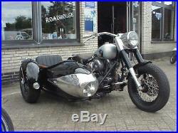 Vintage Pannonia Duna Sidecar Motorcycle