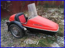 Vintage Velorex 562 Sidecar Motorcycle