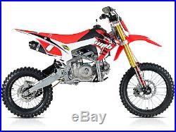 WPB 140 Race RED Welshpitbikes Pit Dirt Bike Stomp wpb140 Demon X 17HP