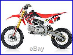 WPB RACE 125 Pit Dirt Bike Stomp Demon X Motocross, moto, petrol, dirt bike
