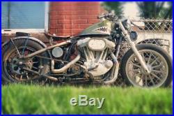 Weld On Hardtail Rigid Kit Rear Frame 2004-2020 Rubber Mount Harley Sportster