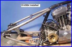 Weld On Rear Frame Section Hardtail 82-03 Harley Sportster Rigid Bobber 150 Tire