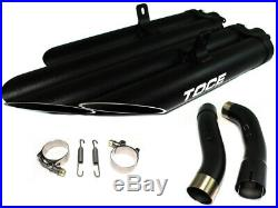 Yamaha R1 (04-06) T-Slash Slip On Exhaust by Toce Performance (Quad 4 Pipe Exit)