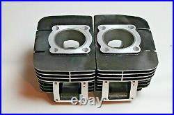 Yamaha RD350 Cylinder Replacement Kit Pistons Rings Wrist Pins 1973 1975