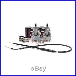 Yamaha XS650 34mm VM34 Mikuni Round Slide Carburetor Conversion Carb Kit