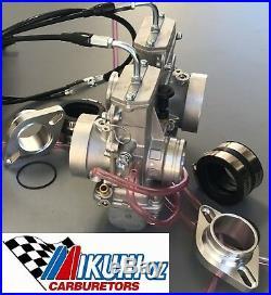 Yamaha XV Virago 750, 920, 1100 Mikuni Twin TM38 Flatslide Carburetor Kit