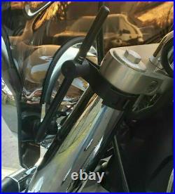 Yamaha XVS 650 950 1100 V-Star Custom Classic TINTED STEALTH WINDSHIELD FAIRING