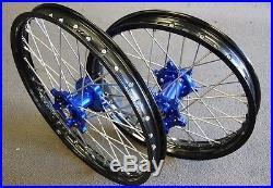 Yamaha Yz125 Yz250 Yz250f Yz450f 125 250 450 Rim Rims Cnc Hub Wheels Set M Rmy02