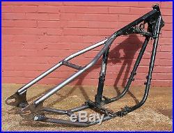 Yamaha xs 650 chopper bobber weld on hardtail frame custom vintage ridgid tfmw 2