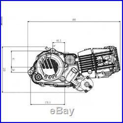Zongshen 190 pit bike engine. Electric Start. Like daytona anima 190