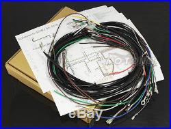 Zündung Elektronik Steuerteil Schwungscheibe Kabelbaum Passt für Simson S51 12V